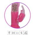 Vibrador Rotativo Com Estimulador VP (RT002C-ST356) - Rosa