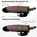 Capa Peniana Com Vibro e Anel Escrotal 17cm SI (1204) - Preto