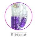 Vibrador Vai e Vem Female Com Estimulador Recarregável SI (6045) - Roxo