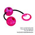 Bolinha Ben-Wa Metal 02un Hard (CSA130-HA130) - Vermelho