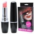 Vibrador Formato De Batom Lipstick VP (MV007) - Preto