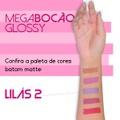 Batom Líquido Matte Megabocão (SL455) - Lilás 2