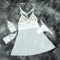 *camisola Em Tule Segredo Da Paixão (sp613) - Branco