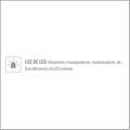 Plug de Luxo Articulada Com Led e Cauda VP (PL081-ST622) - Branco