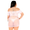 Camisola Gabriela Plus Size (PS2009) - Branco