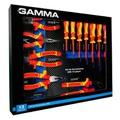 Kit De Ferramentas Vde Isoladas Com 13 PeÇas Gamma - Palma Parafusos e Ferramentas