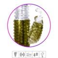Vibrador Rotativo Sobe Desce Recarregável SI (5279 - ST385) - Dourado