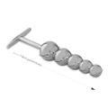 Plug Ball em Metal - (HA124) - Cromado