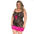 *Camisola Patricinha Plus Size (PS2061) - Padrão