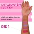Batom Líquido Matte Megabocão ( SL455 ) - Red 1