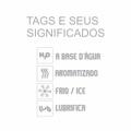 Lubrificante Uau 60ml(ST311) - Black Ice