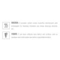 Prótese Aromática Com Escroto e Vibro 18x16cm (UVA04A-02567) - Uva