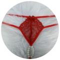 Calcinha Tailandesa Com Alça Dupla 50 Tons (TO003) - Vermelho