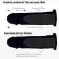 Capa Peniana Em CyberSkin Desire 17cm (CCY332) - Preto