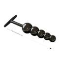 Plug Ball em Metal - (HA124) - Preto