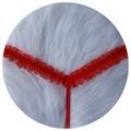 Calcinha Fio Dental Com Pérola 50 Tons (TO005) - Vermelho