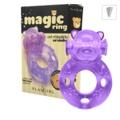 Anel Peniano Magic Ring Com Vibro (ST343) - (EVA310) Ursinho
