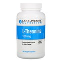 L-Theanine, Lake Avenue Nutrition, 100 mg, 180 Veggie Capsules