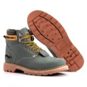 Bota Jhon Boots Masculina Second Shift Cinza