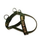 Peitoral Para Cachorro Personalizado Verde Militar e Bege