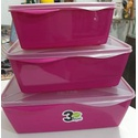 Organizador Multi Uso Retangular Over Top - Rosa