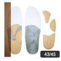 Kit Resiflex - Esporão Do Calcâneo Ou Talalgia 43-45 Br