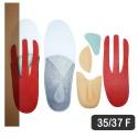 Kit Resiflex - Fascite Plantar 35-37 Br Feminina