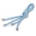 Porta Guardanapo cordão azul claro