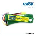 Bateria airsoft lipo 11.1-3s-1100mah-20c- fb 018