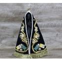 Imagem Resina - Nossa Senhora Aparecida 25 cm - Manto Tecido Bordado