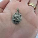 Medalha Oval São Padre Pio 2 cm