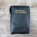 Capa em couro Liturgia das Horas - Preta Volume I