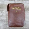 Capa em couro Liturgia das Horas - Marrom Volume II