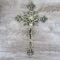 Crucifixo Parede - 20x28 Dourado