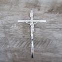 Crucifixo de Parede -Prata 11x18