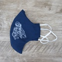 Máscara em Tecido - São José Azul Marinho