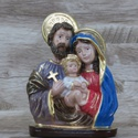 Imagem Gesso - Sagrada Família Busto 20 cm