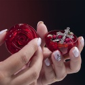 Terço Perfumado de Rosas 6mm- Santa Teresinha