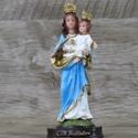 Imagem Resina - Nossa Senhora Auxiliadora 15 cm