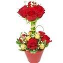 Topiaria de Rosas e Ferrero