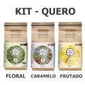 KIT - QUERO - 3 Pacotes de 250g