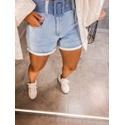 Short jeans Cinto Claro