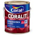 Esmalte Sintético Coralit Ultra Resistência Acetinado Gelo 3,6L