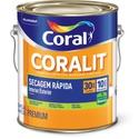Coralit Balance Secagem Rápida Acetinado Cor Branco 3,6L - Coral