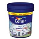 Tinta Acrílica Fosco Rende Muito Cor Branco 20l Coral