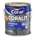 CORALIT ANTIFERRUGEM FERROLACK COR PLATINA 3,6L