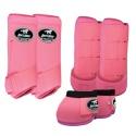 Kit Proteção Rosa Completo - Boots Horse