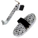 Limpador de Casco e Ranilha + Escova Zebra Importado - Instep