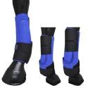 Caneleira Neoprene Azul - Equitech