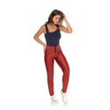 Calça Skinny Prada Terracota